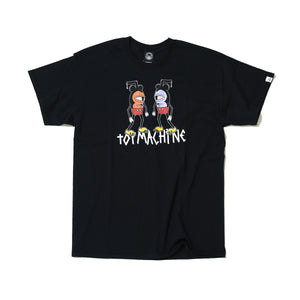 MOUSEKETTER 2  SHORT SLEEVE TEE - BLACK