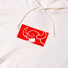SQUARE MONSTER SWEAT PARKA - WHITE