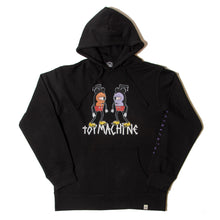 DOUBLE MOUSEKATER SWEAT PARKA - BLACK