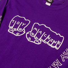 FIST LONG SLEEVE TEE - PURPLE