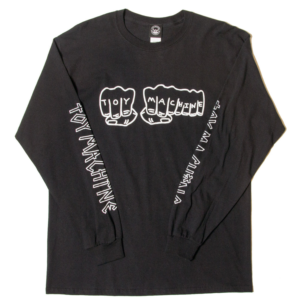 FIST LONG SLEEVE TEE - BLACK