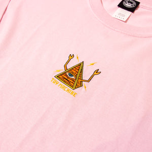 PYLAMID SECT LONG SLEEVE TEE - PINK