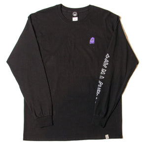 SECT WAX LONG SLEEVE TEE - BLACK