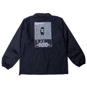 SECT STAFF COACH JACKET - BLACK