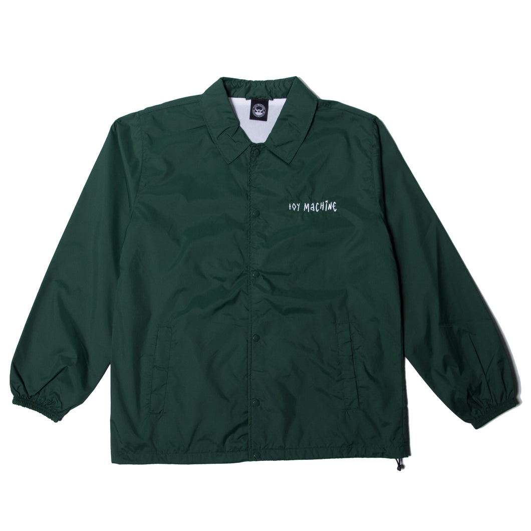 SECT STAFF COACH JACKET - GREEN