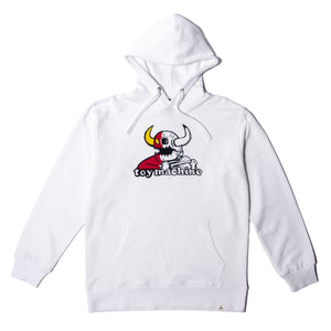 RIP TORN MONSTER SWEAT PARKA - WHITE