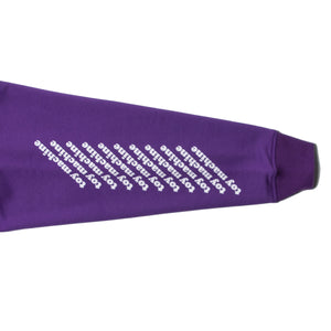 TOYMACHINE LOGO SWEAT PARKA - PURPLE