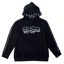 FIST EMBRO SWEAT PARKA - BLACK