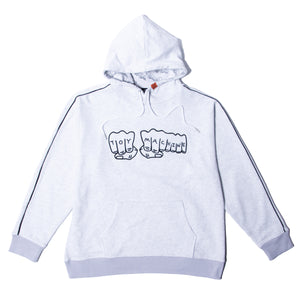 FIST EMBRO SWEAT PARKA - GRAY