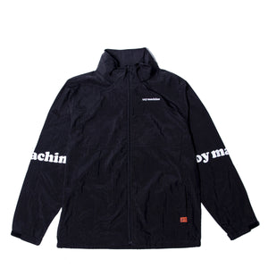 TOYMACHINE LOGO WIND JACKET - BLACK