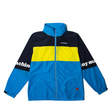 TOYMACHINE LOGO WIND JACKET - BLUE