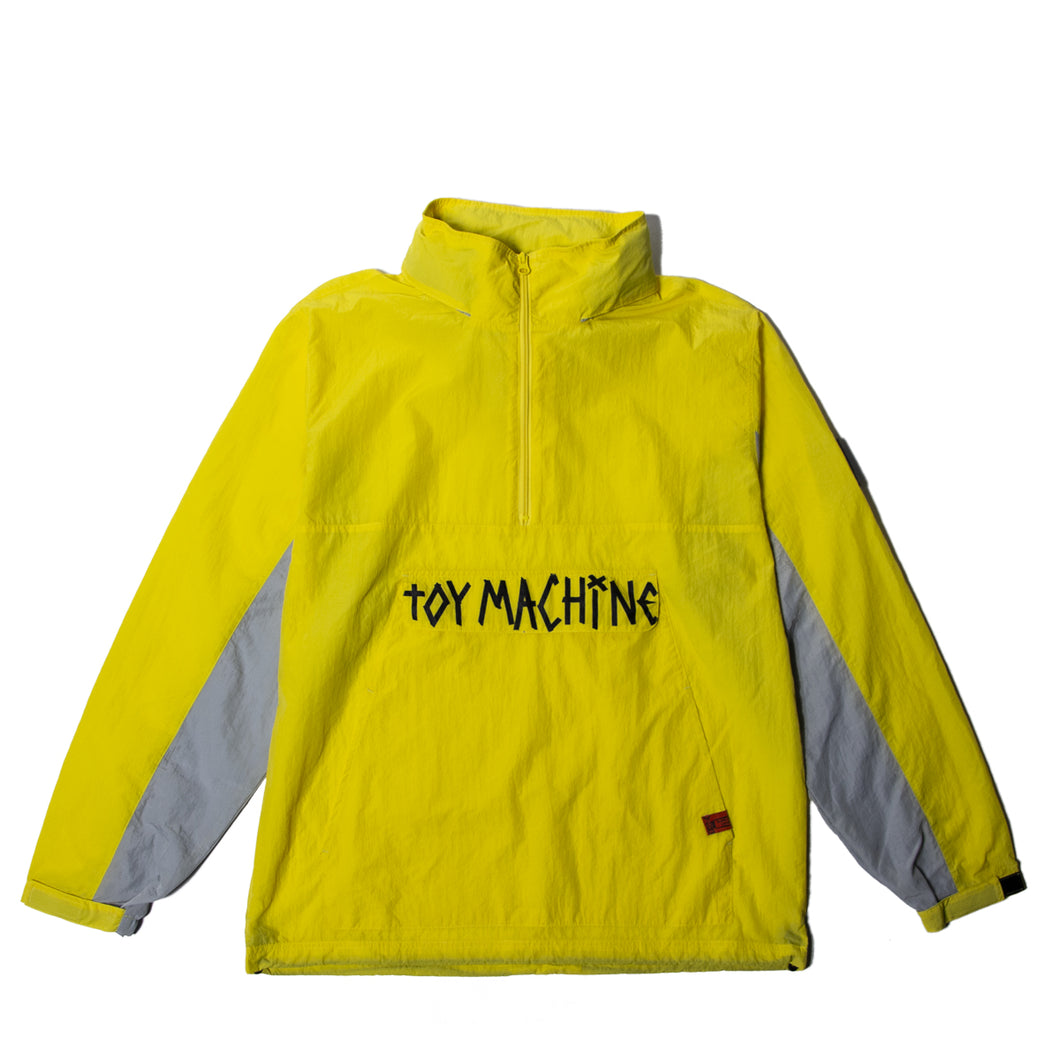 TAPE LOGO ANORAK JACKET - YELLOW