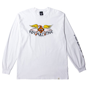SECT PROTOP LS TEE - WHITE
