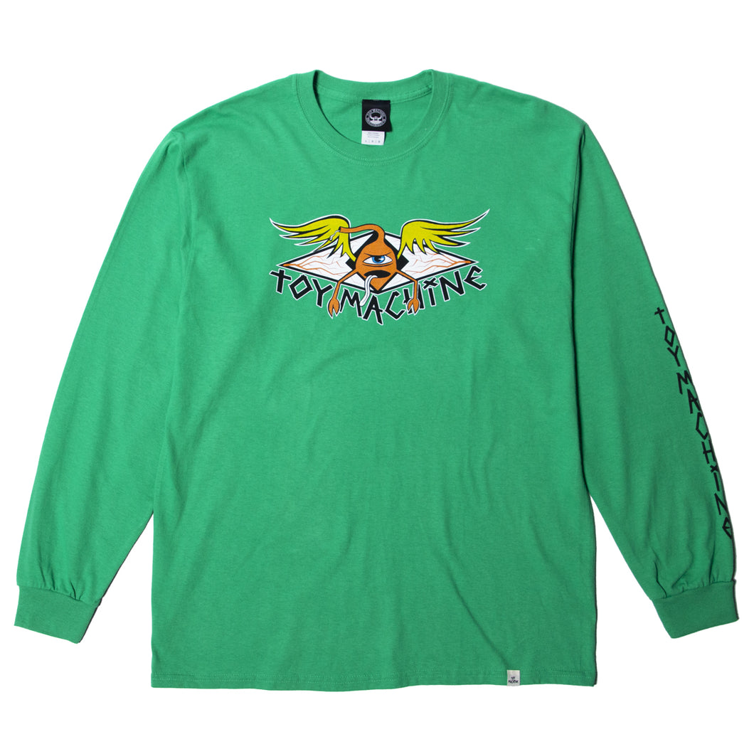 SECT PROTOP LS TEE - GREEN