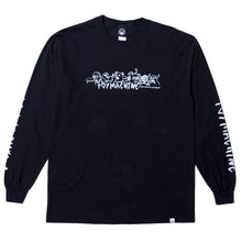 THE CREW LS TEE - BLACK