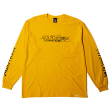 THE CREW LS TEE - GOLD