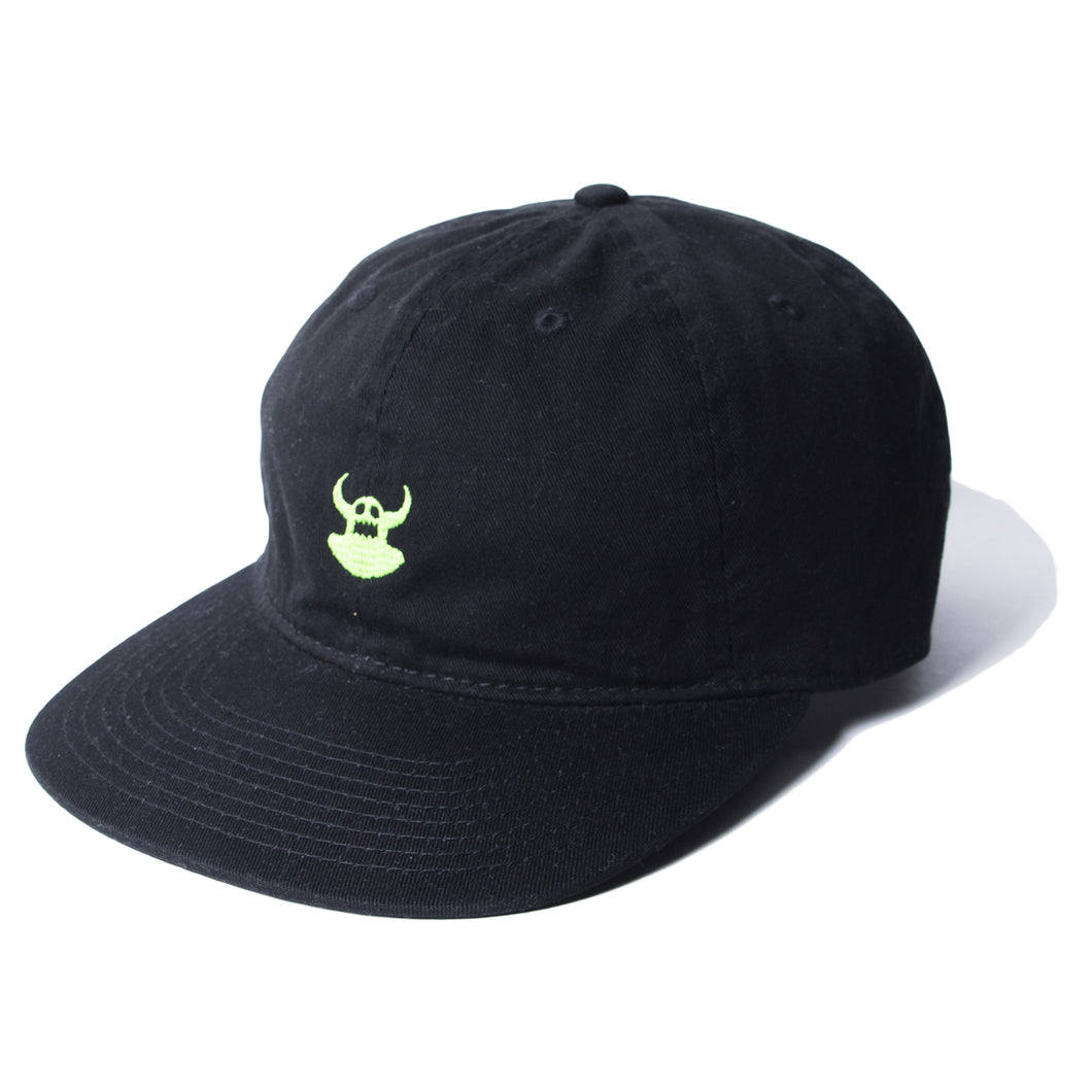 DISTRESSED TOY EMBRO CAP - BLACK