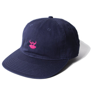 DISTRESSED TOY EMBRO CAP - NAVY