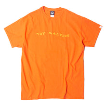 FIST PRINT SS TEE - ORANGE