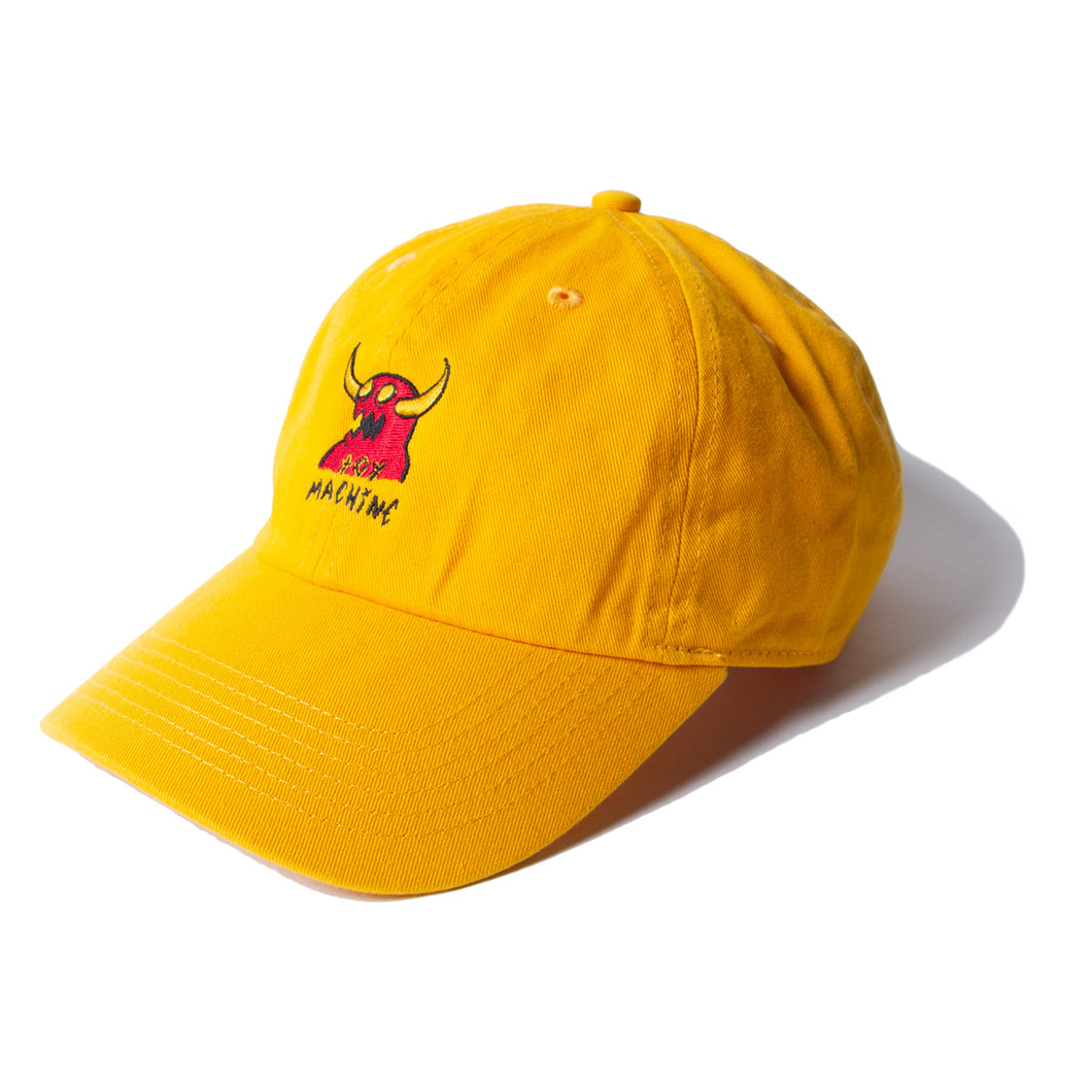 MONSTER MARKED EMBROIDERY CAP - GOLD
