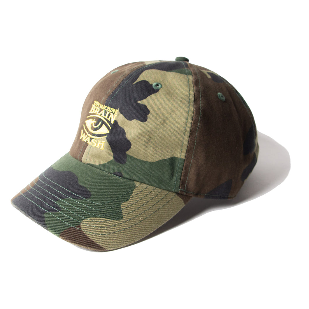BRAIN WASH EMBROIDERY CAP - CAMO