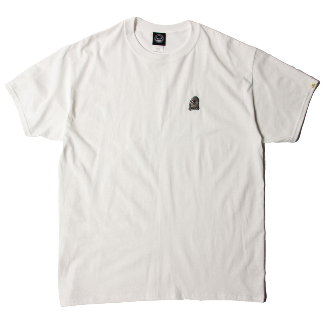 SECT WAX EMBROIDERY SS TEE - WHITE