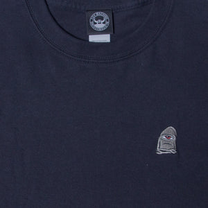 SECT WAX EMBROIDERY SS TEE - BLACK