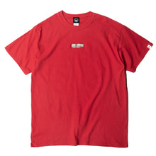FIST EMBROIDERY SS TEE - RED