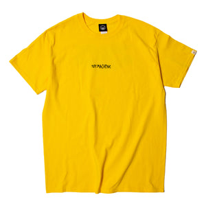 SECT PROTOP PRINT SS TEE - YELLOW