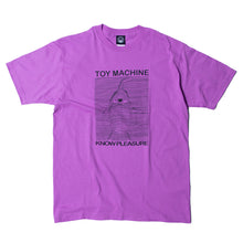 TOYDIVISION PRINT SS TEE - LAVENDER