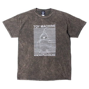 TOYDIVISION PRINT WASHED SS TEE - BROWN