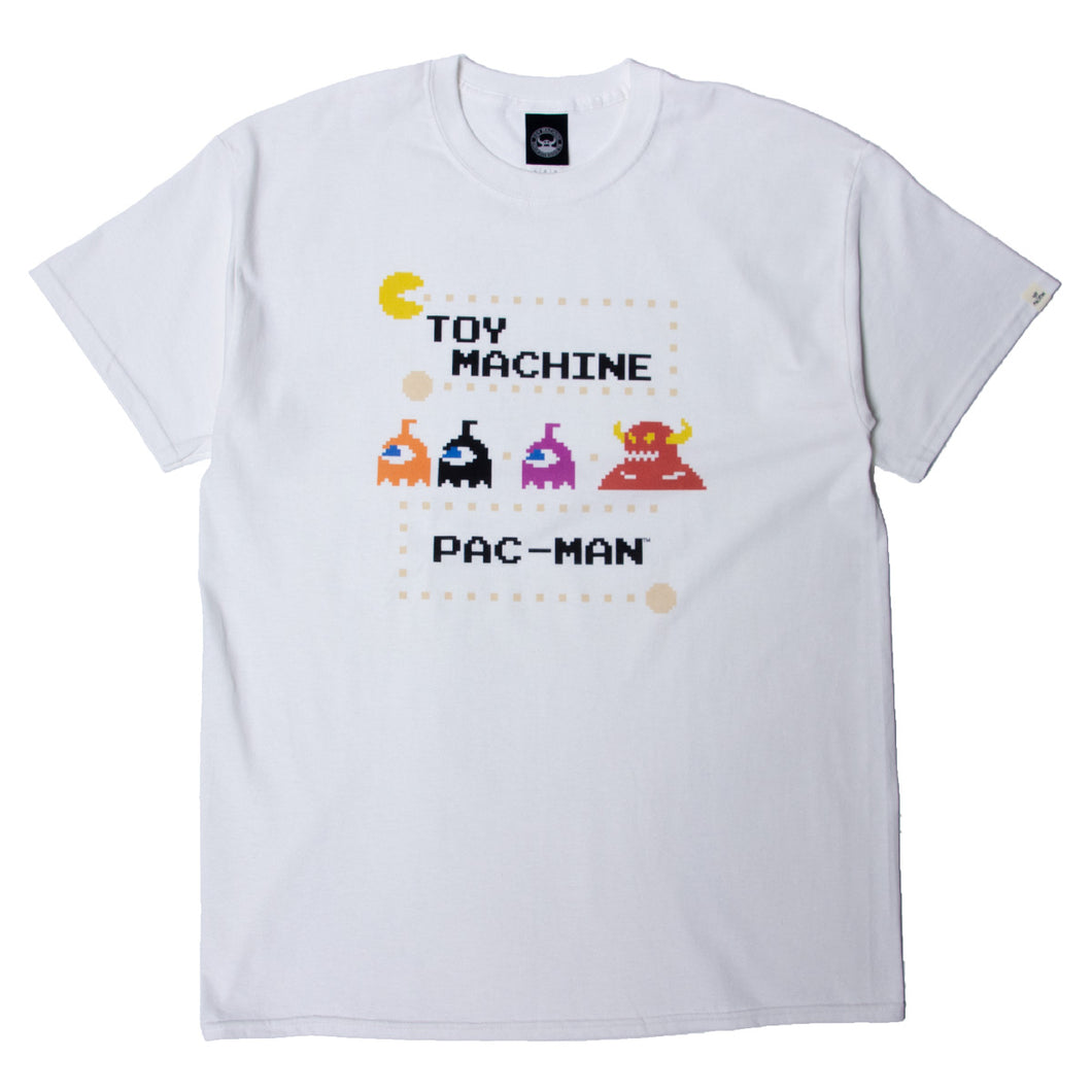 PAC-MAN MONSTER SECT SST - WHITE