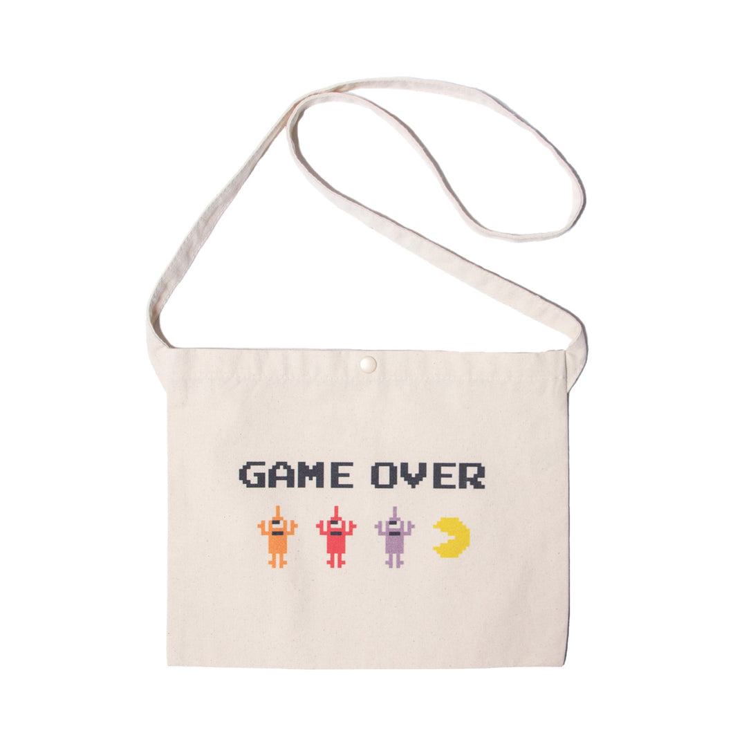 【LINE登録者限定特典付】PAC-MAN GAMEOVER SECT BAG - NATURAL WHITE