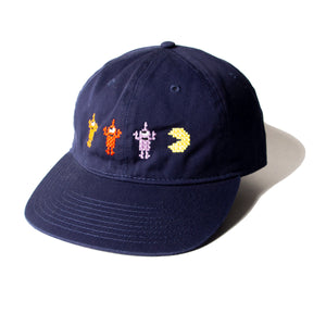 PACMAN GAMEOVER SECT EMB CAP - NAVY
