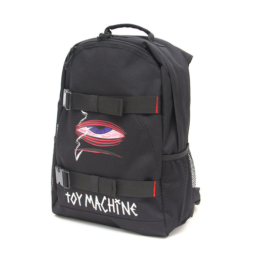 SECT EYE SKATEBOARD BACK PACK - BLACK