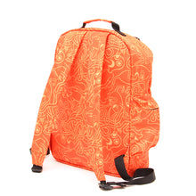 ALL OVER PRINT BACK PACK - ORANGE