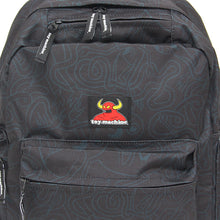 ALL OVER PRINT BACK PACK - BLACK