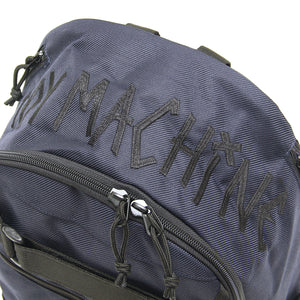 TAPE LOGO EMBRO SKATEBOARD BACK PACK - NAVY