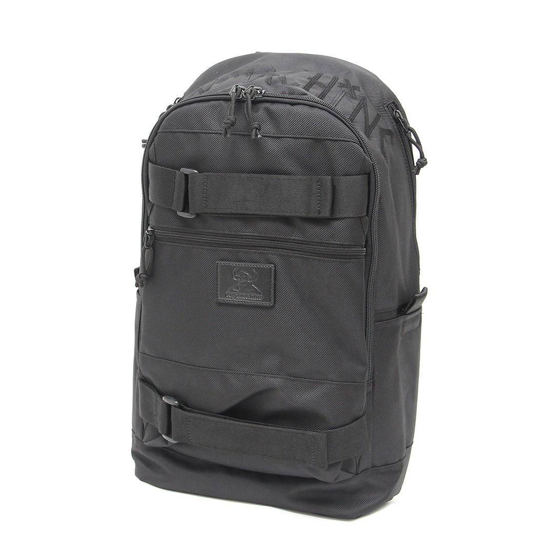 TAPE LOGO EMBRO SKATEBOARD BACK PACK - BLACK
