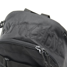 【LINE登録者限定特典付】TAPE LOGO EMBRO SKATEBOARD BACK PACK - BLACK