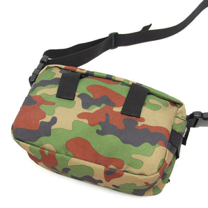 MESH POCKET TOYMONSTER SMALL SHOULDER BAG - CAMO