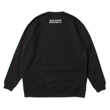 MONSTER MARKED PT SWEAT CREW - BLACK