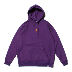 SECT WAX EMBRO SWEAT PARKA - PURPLE