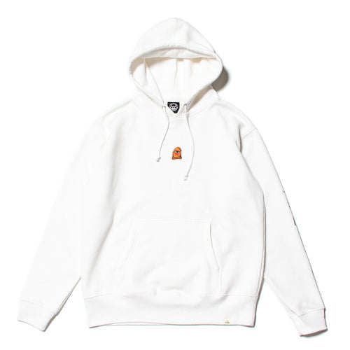 SECT WAX EMBRO SWEAT PARKA - WHITE