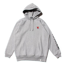 MONSTER MARKED EMBRO SWEAT PARKA -M. GRAY