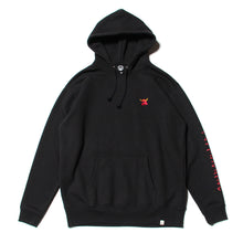 MONSTER MARKED EMBRO SWEAT PARKA - BLACK