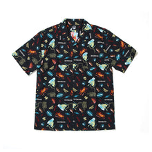 SECT EYE PRINT SHIRTS - BLACK