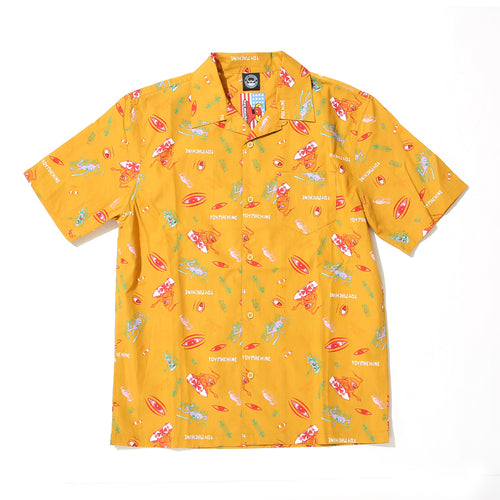SECT EYE PRINT SHIRTS - GOLD