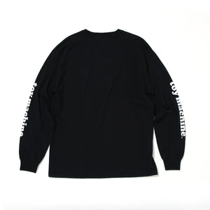 DOT TOYMONSTER LONG SLEEVE TEE - BLACK