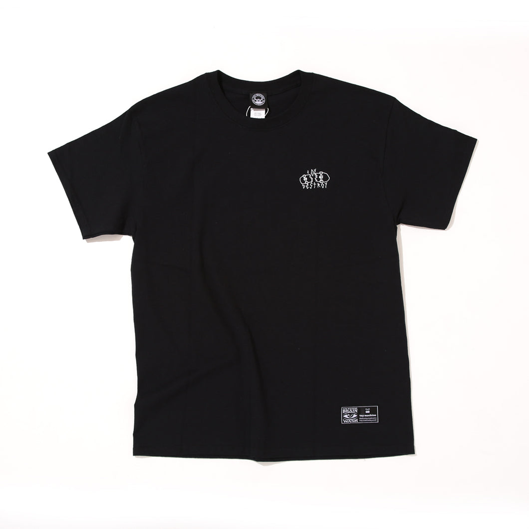 AXEL BOARD SLIDE SHORT SLEEVE TEE -BLACK-